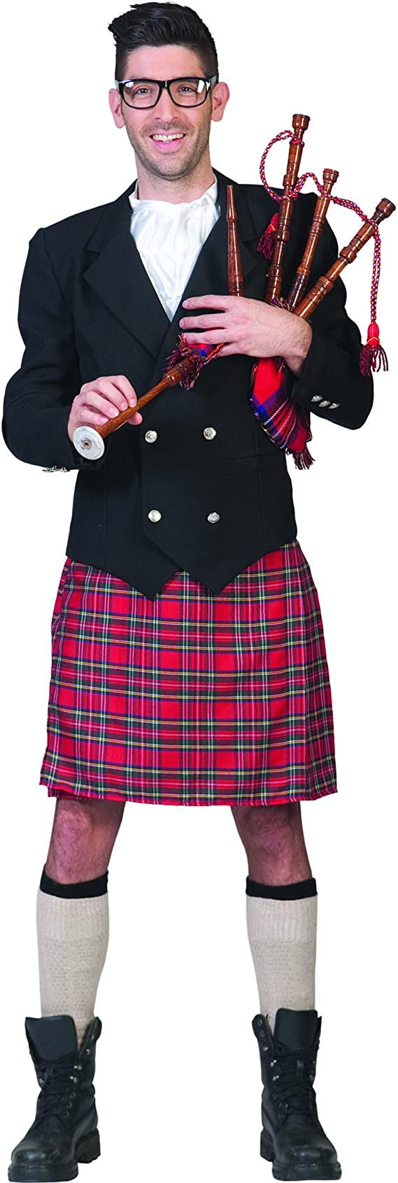 Disfraz traje escocés hombre - M / L: Amazon.es: Juguetes y juegos