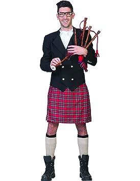 Disfraz traje escocés hombre - XL: Amazon.es: Juguetes y juegos