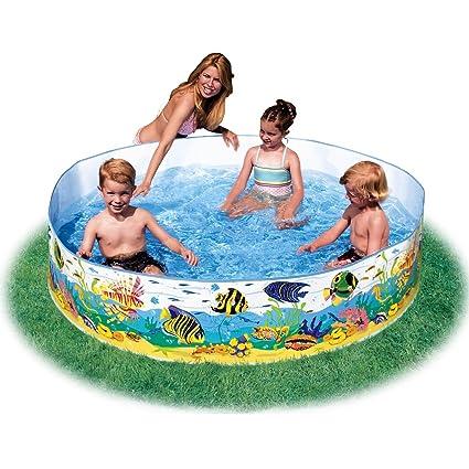 Intex Underwater Fun Swimming Pool 6 Feet