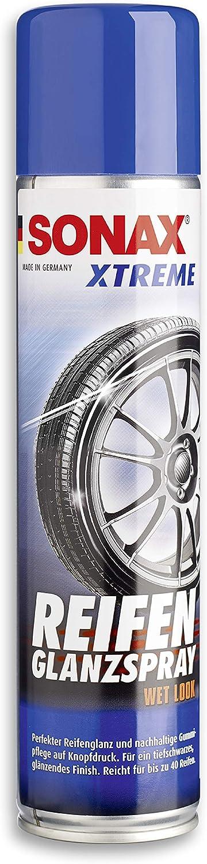 SONAX 02353000-544 XTREME Spray para brillo de neumáticos Wet Look (400 ml)