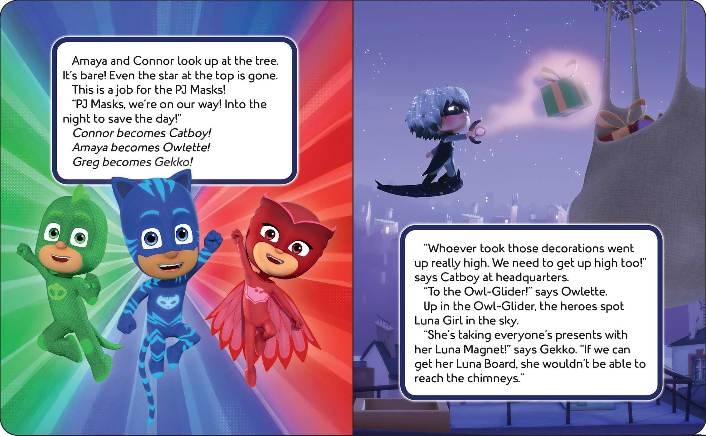 Amazon.com: Gekko Saves Christmas (PJ Masks) (9781534428850): Maggie Testa: Books
