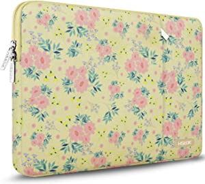 Hseok 15.6-Inch Laptop Case Sleeve, Spill-Resistant Case for 15.4-Inch MacBook Pro 2012 A1286, MacBook Pro Retina 2012-2015 A1398 and Most 15.6-Inch Laptop,Daisy Beige