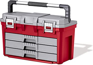 Keter 17186722 3 cajones caja de herramientas: Amazon.es: Bricolaje y herramientas