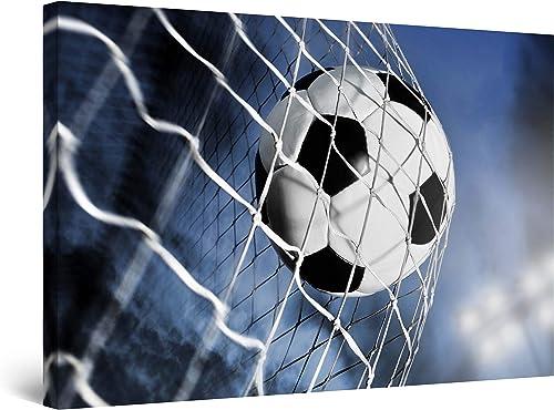 Startonight Wall Art Canvas Soccer Ball