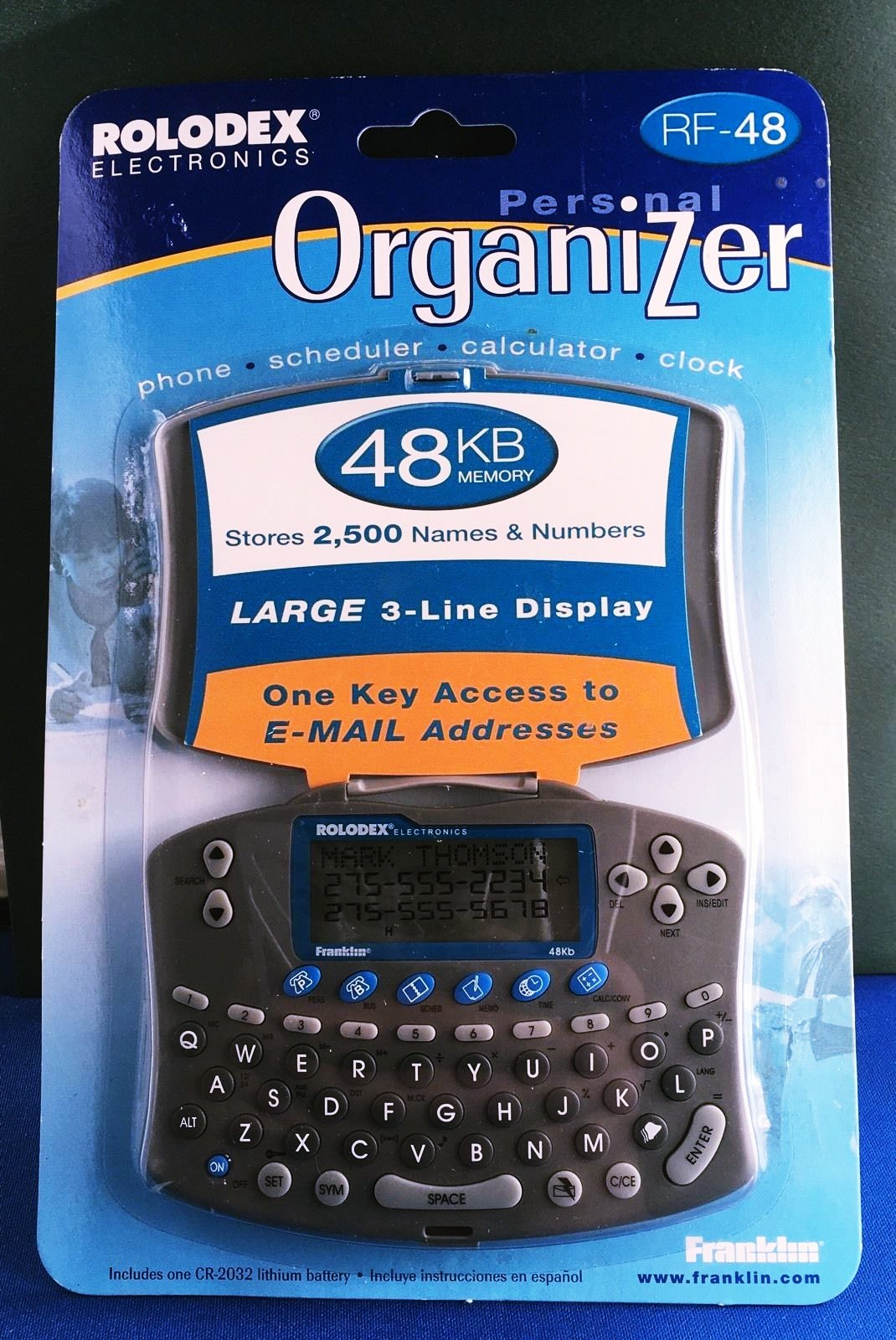 Franklin Rolodex Personal Organizer RF-48 New In Package Hard to find! Don't let it get away!! by FR (Image #2)