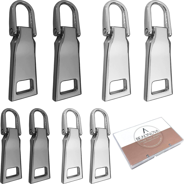 Zipper Sliders of size 34*4 mm zipper accessories zipper pulls,Zipper Heads with silver color