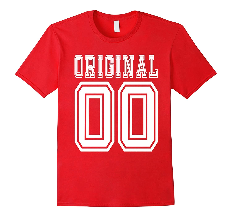 2000 T-shirt 17th Birthday Gift 17 Year Old Boy Girl B-day-PL