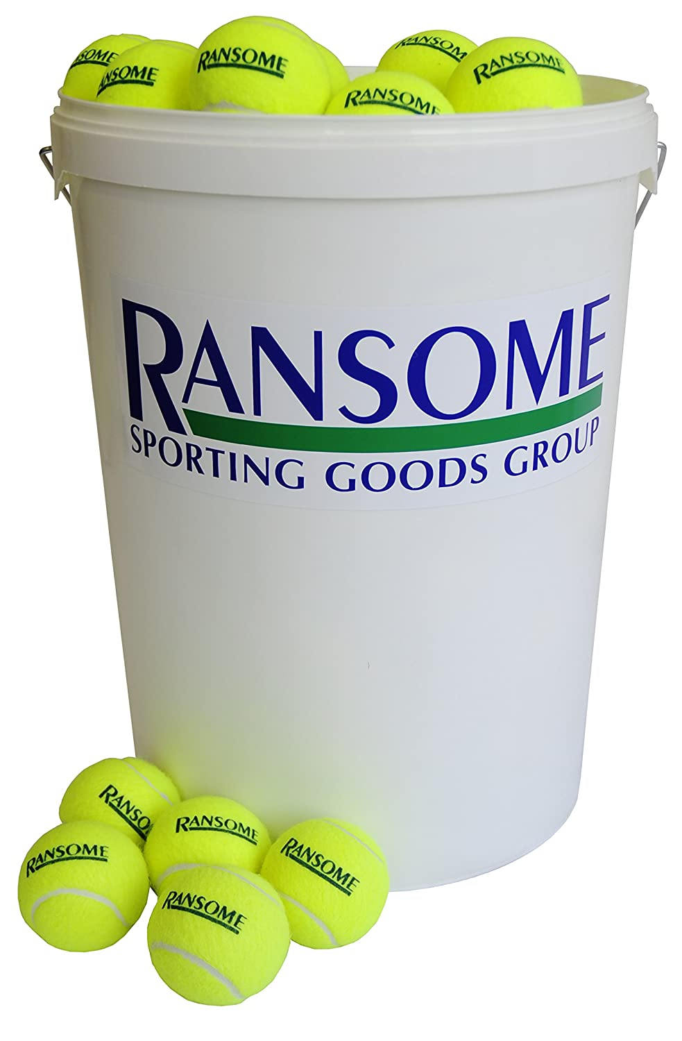Ransome Bucket of 96 Tennis Balls Ransome Sporting Goods 7402