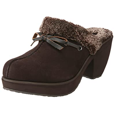 Skechers Women s Disco Bunny-Boogie Down Clog,Chocolate,9 M US ... c5244f0242