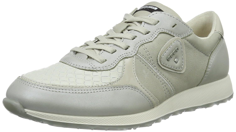 Ecco Sneak Ladies, Zapatillas para Mujer 42 EU|Gris (50399gravel/Gravel/White/Gravel)