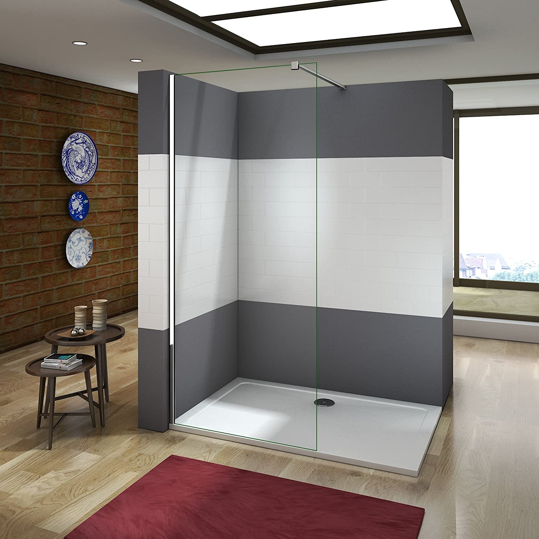 Walk in ducha pared de 10 mm - Mampara de ducha Easy Clean Nano ...