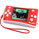"""WOLSEN 2.5"""" LCD Portable Game Console Speaker (Red + White) (3 X AAA) 152 in 1 Games"""