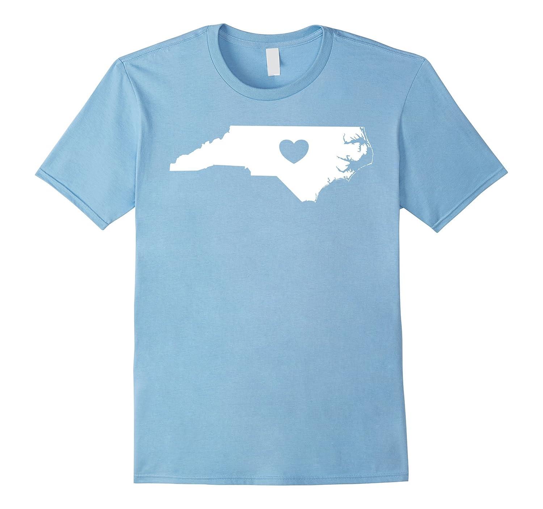 North Carolina Heart T-Shirt-Loveshirt