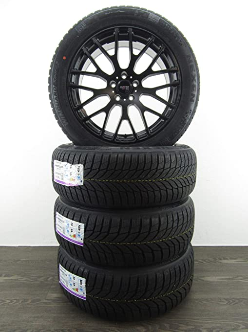 4 Invierno ruedas 19 pulgadas compatible con Renault Espace V tipo RFC 8.5J TPMS platino