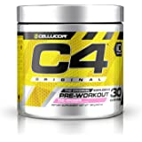 Cellucor C4 Original Pre Workout Powder Energy Drink w/Creatine, Nitric Oxide & Beta Alanine, Pink Lemonade, 30 Servings