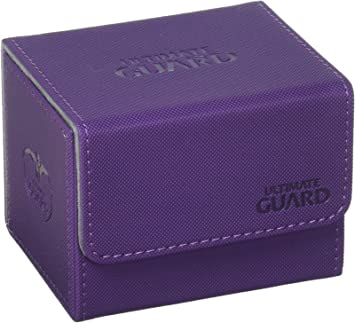 PINK Ultimate Guard SIDEWINDER DECK BOX 100 Card Side Load Xenoskin UGD010776