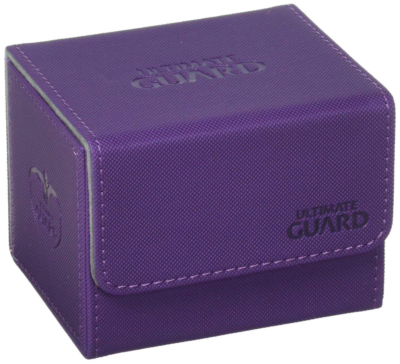 Ultimate Guard Sidewinder Deck Box 100+ XenoSkin Card Game, Purple, Large by Ultimate Guard
