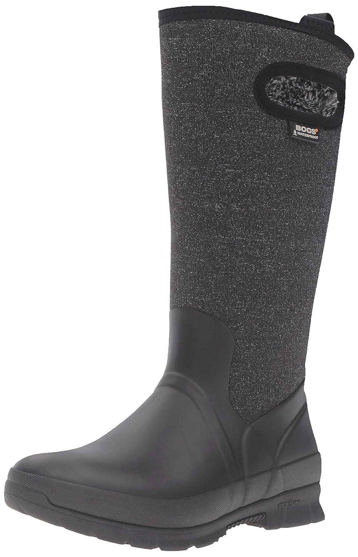 Bogs Women's Crandall Tall Snow Boot B00TGZA58W 7 B(M) US|Black/Multi
