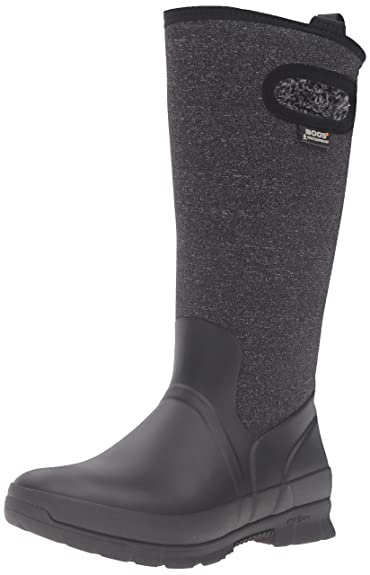 Bogs Women s Crandall Tall Snow Boot Black Multi 6 ... 23f6f0620