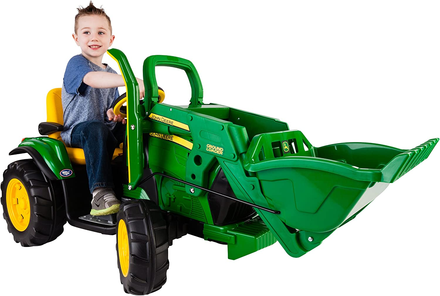 B00H2VSCK0 Peg Perego John Deere Ground Loader Ride On, Green 8191hPe0SzL.SL1500_
