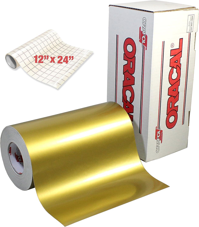"Gloss Brushed Silver 24/"" Intermediate Cutting Craft Vinyl Adhesive Film Roll"