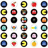 30 x Edible Cupcake Toppers - PacMan Retro Themed
