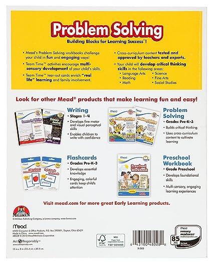 Amazon.com : Mead 1st Grade Problem Solving Workbook, 10 x 8 ...