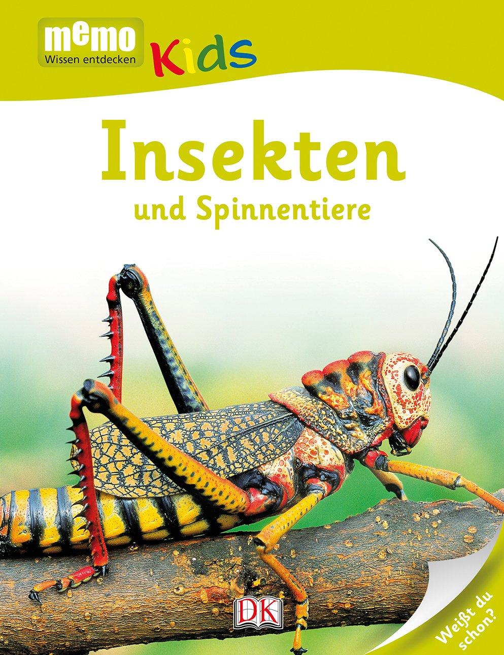 Memo Kids. Insekten Und Spinnentiere