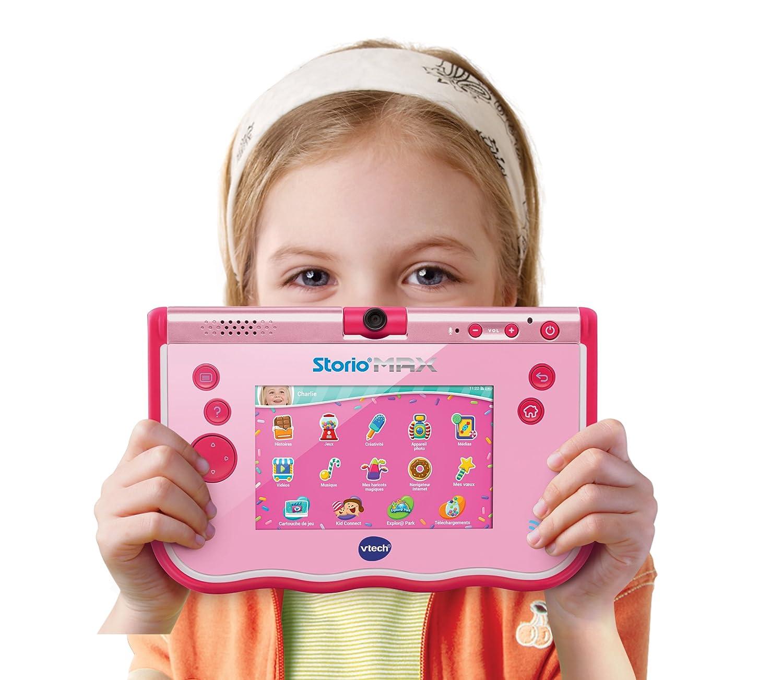 VTech- Storio MAX Tablet educativa para niños, multifunción, Pantalla táctil de 5