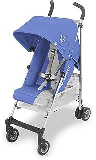Maclaren Triumph Silla de paseo - ligera, compacta - Azul Claro/Plata