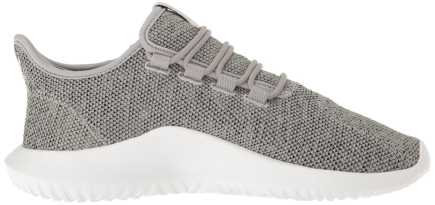 adidas Originals Women's Tubular Shadow Fashion Sneakers B01HJ9H6JM 9 M US|Medium Grey Heather/Sharp Grey/White