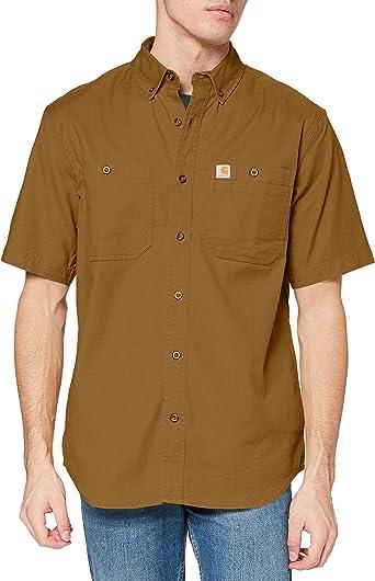 Carhartt Rugged Flex Rigby Short-Sleeve Work Shirt Camisa para Hombre