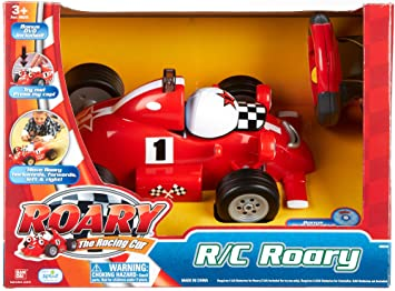 Amazon Com Roary The Racing Car R C Talking Remote Control