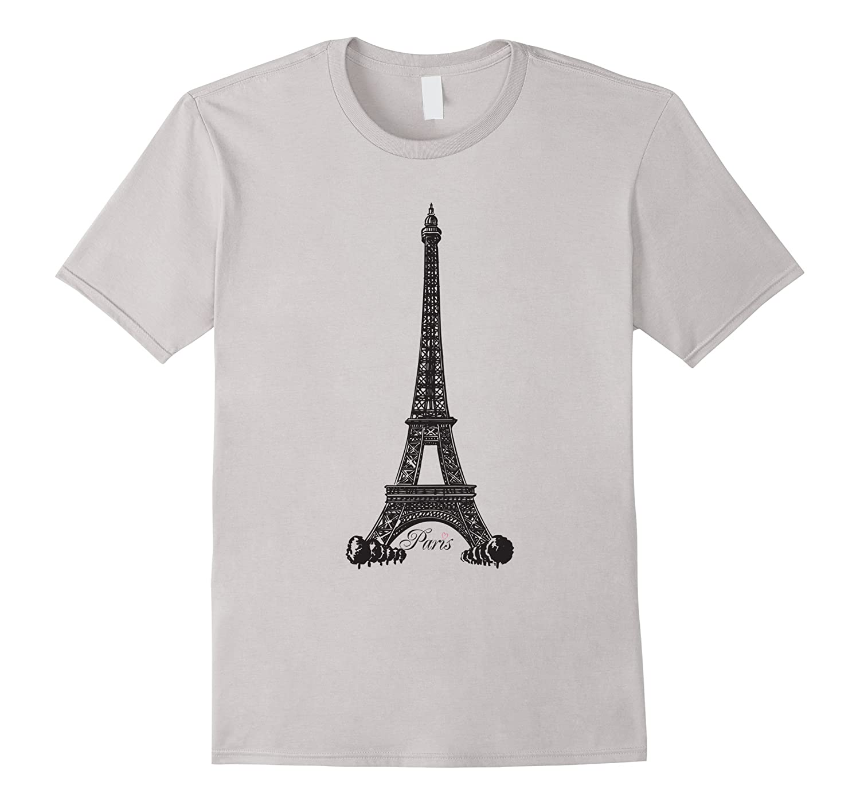 Eiffel Tower Paris France T-Shirt-TD