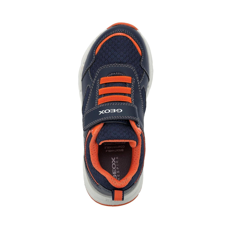 Geox J Top Fly A, Sneakers Basses garçon