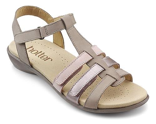 34323747 Hotter Women's Sol Open Toe Sandals: Amazon.co.uk: Shoes & Bags