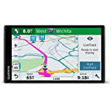 Garmin DriveSmart 61 NA LMT-S with Lifetime Maps/Traffic, Live Parking, Bluetooth,WiFi, Smart Notifications, Voice Activation, Driver Alerts, TripAdvisor, Foursquare
