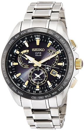 b0ffff4ae6 [アストロン]ASTRON 腕時計 ソーラーGPS衛星電波 デュアルタイム表記 チタンモデル サファイアガラス