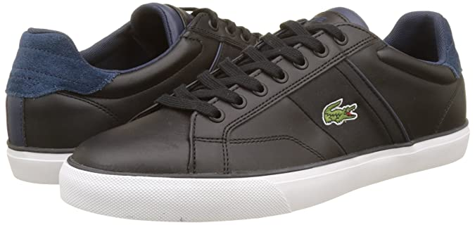 Amazon.com | Lacoste Fairlead 317 Mens Trainers Black - 8 UK | Fashion Sneakers
