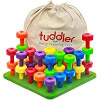 Tuddler Paquete Educativo Pegs Incluye un Set