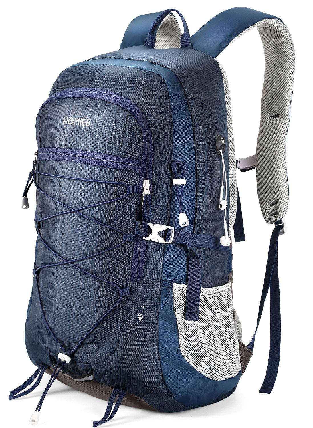 Lightweight Multi-functional Loocower 45L Packable Ultralight Hiking Backpack