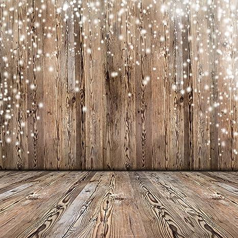 amazon com 8x8ft vinyl photography background nostalgia wood floor