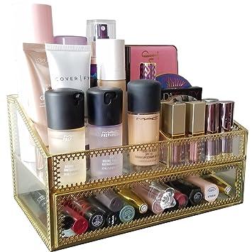 Amazon.com: Hersoo - Bandeja decorativa de perfume con ...