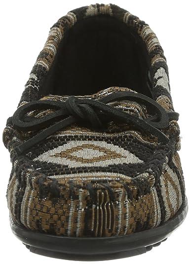 Minnetonka Baja Moc, Mocasines para Mujer: Amazon.es: Zapatos y complementos
