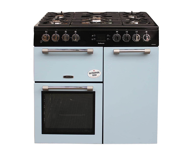 Why Dual Fuel Range Leisure Ck90f232b Cookmaster Blue 90cm Dual Fuel Range Cooker