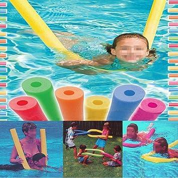 yosoo flotador de natación pool de pasta Pasta huecas 150 * 6.5 cm, EPE de espuma, color aleatorio 4 Stück: Amazon.es: Deportes y aire libre