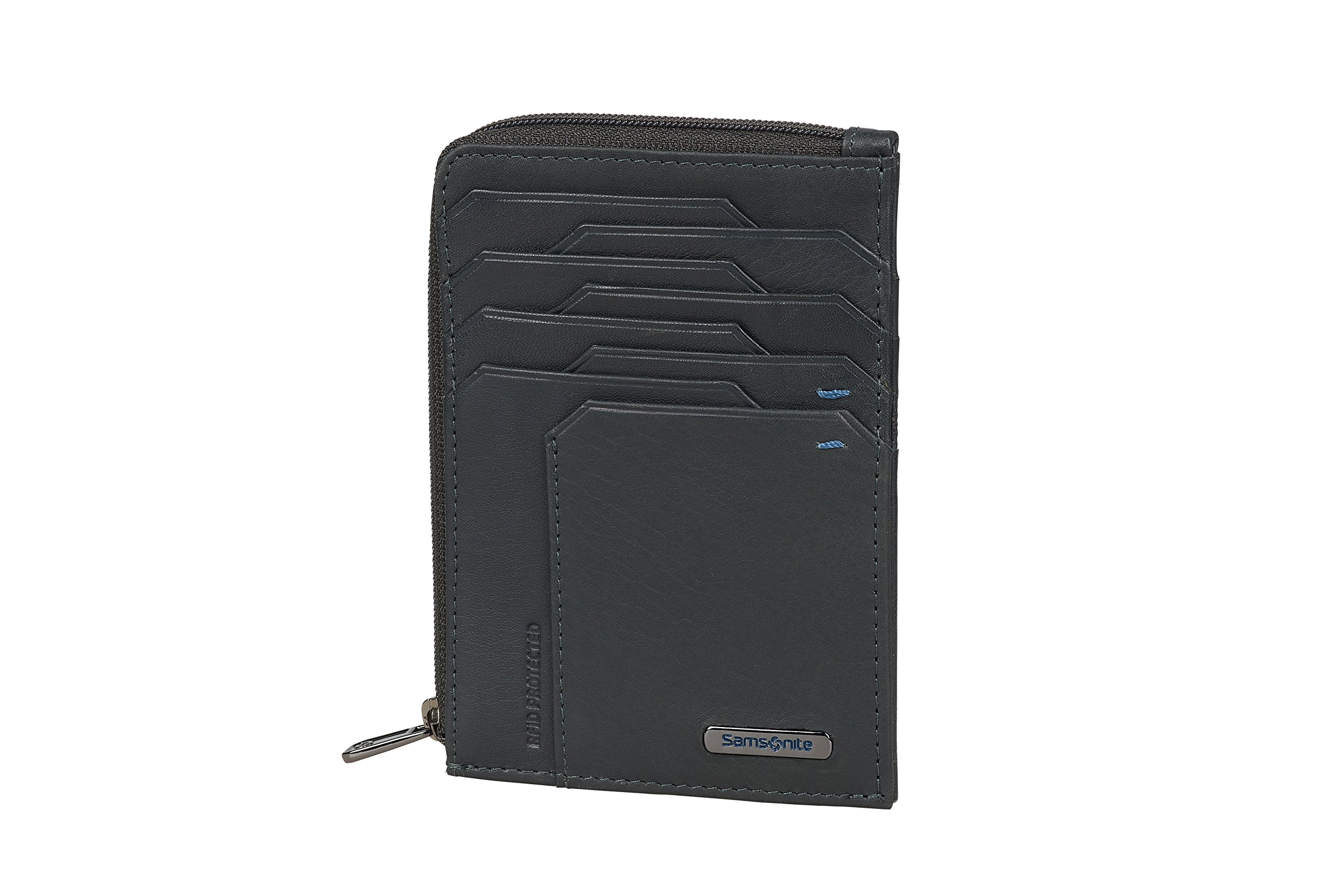 Spectrolite SLG Small Wallet for 4 Creditcards 12 cm Night Blue//Black 0 liters 2 Compartments Credit Card Case Blue