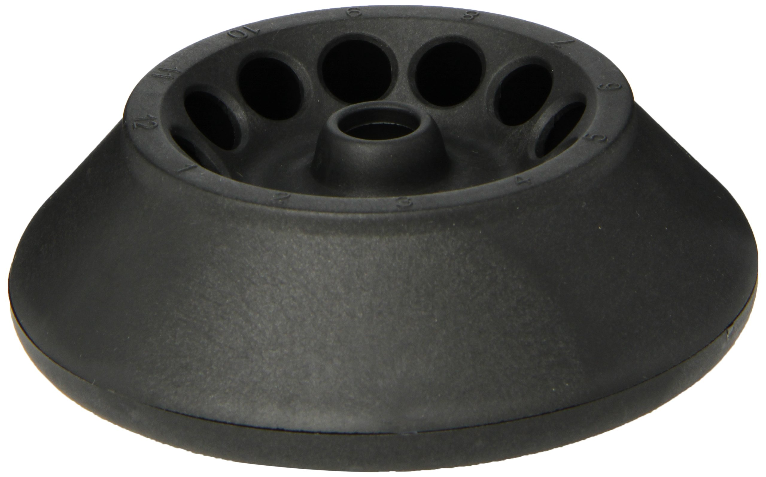 Heathrow Scientific 12-Place Standard Rotor with Cover and Knob, 1.5/2ml Tube Capacity