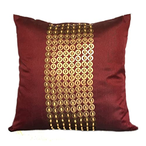 Maroon Decorative Pillows Amazon Fascinating Maroon Decorative Pillows