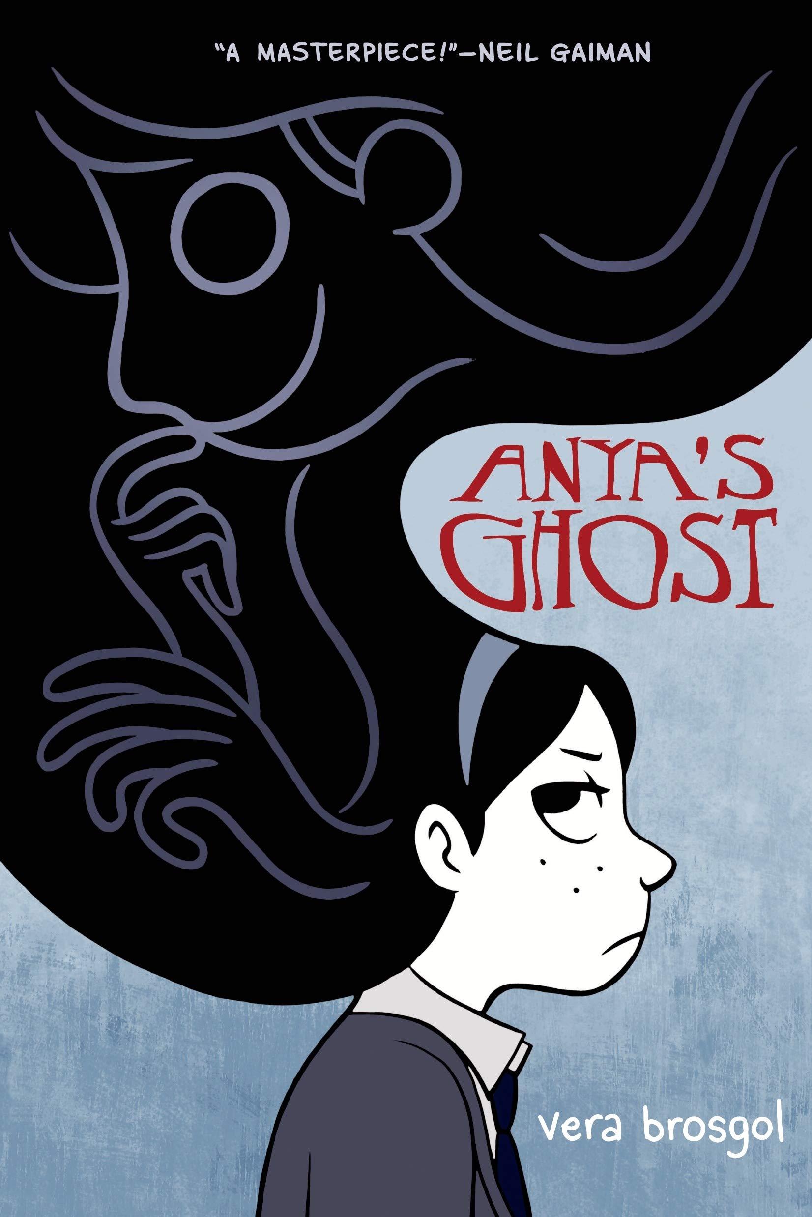 Anya's Ghost comic